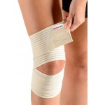 ORTHOLIFE ELASTIC KNEE WRAP / UNIVERSAL / TAN  (D)