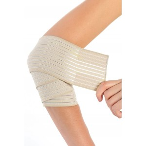 ORTHOLIFE ELASTIC ELBOW WRAP / UNIVERSAL / TAN