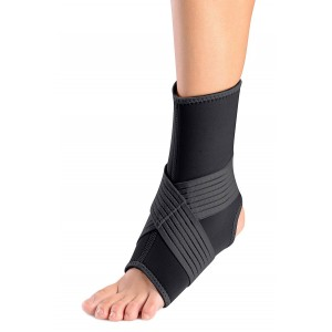 ORTHOLIFE ANKLE BRACE WITH FIGURE OF 8 STRAP