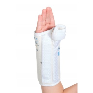ORTHOLIFE PEDIATRIC WRIST SPLINT WITH ABDUCTED THUMB