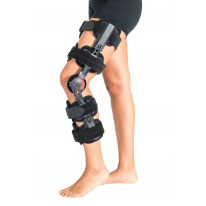 ORTHOLIFE TOURER PLUS POST-OP ROM KNEE BRACE